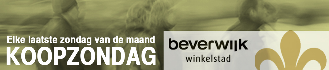 Winkelstad Beverwijk Koopzondagen