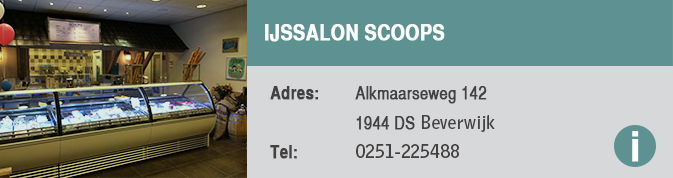 ijssalon scoops