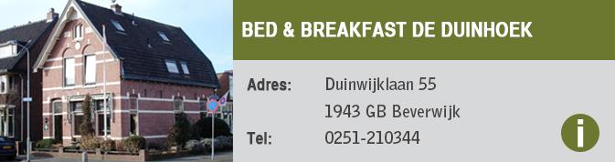 Duinhoek-B&B