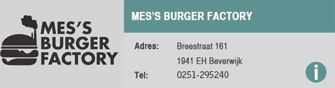 Eetcaf-Mes's Burger Factory