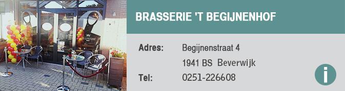Brasserie 't Begijnenhof