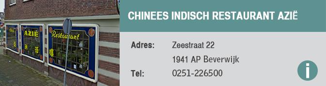 Chinees Indisch Restaurant Azië